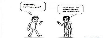 Couverture Facebook drôle docteur