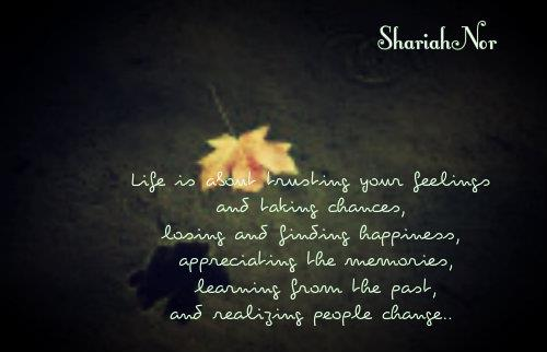 Quote By SharifahNor Images