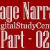 Passage Narration | Part - 02