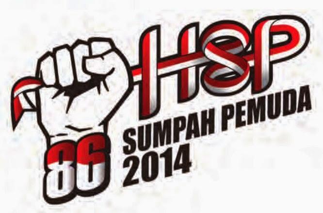 Logo Peringatan Hari Sumpah Pemuda ke-86 Tahun 2014