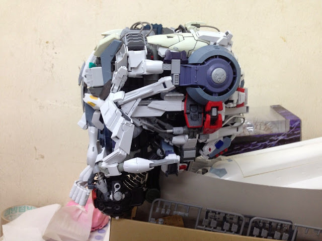 skull head gundam model kits