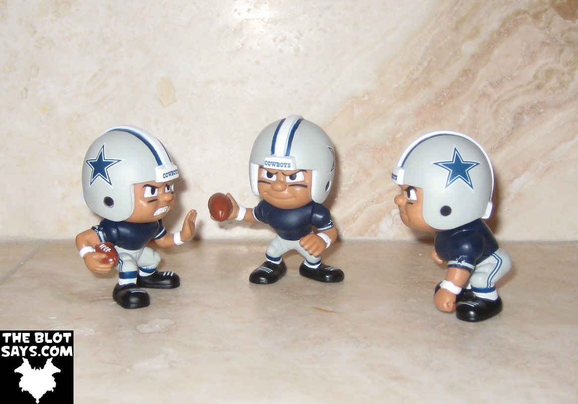 Toy Review Dallas Cowboys Lil Teammates Nfl Collectible Team Set Running Back