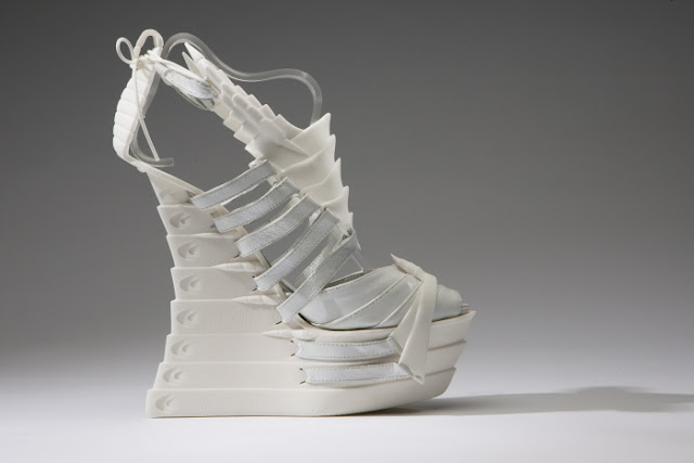 3D printing, experimental, shoes, exoskeleton, Janina Alleyne, technology