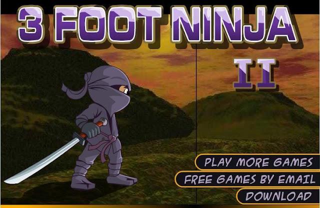 3 Foot Ninja Games to Play Online Free