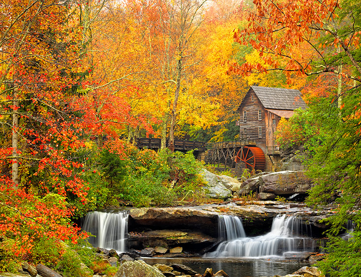 Elizabeth Carmel New Autumn Images From West Virginia