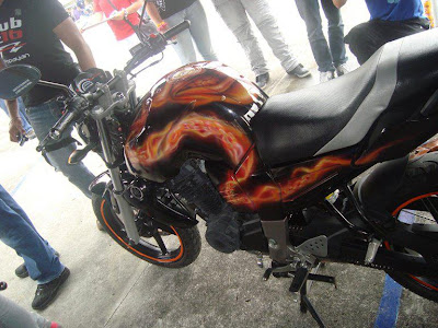 Modifikasi Yamaha Bison