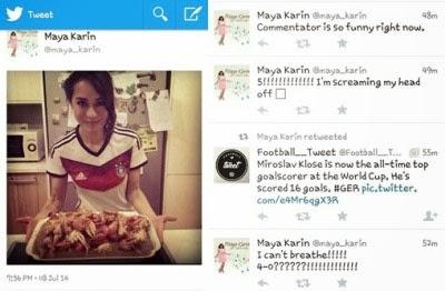 Jerman Aibkan Brazil, Maya Karin & Nora Danish Puas Hati!