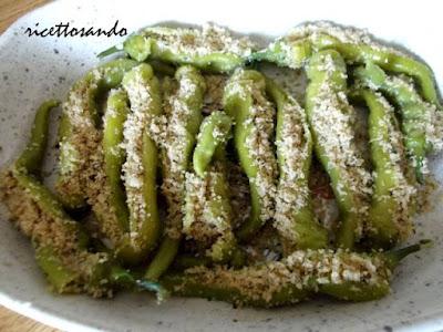 Friggitelli ripieni ricetta verdure farcite