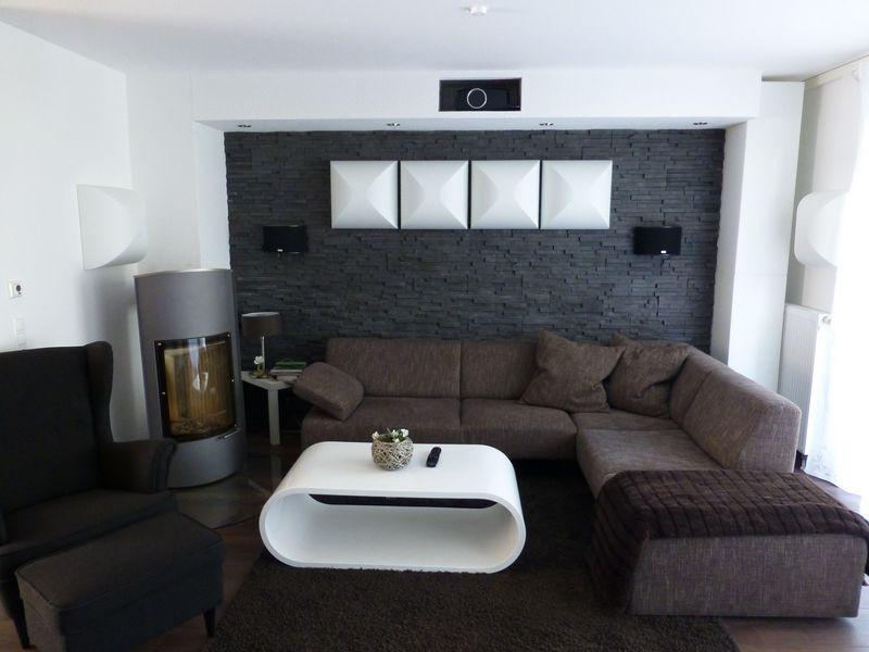 Reihenhaus von werner wohnbau in bickenbach ideen hifi wohnzimmer - Heimkino wohnzimmer ...