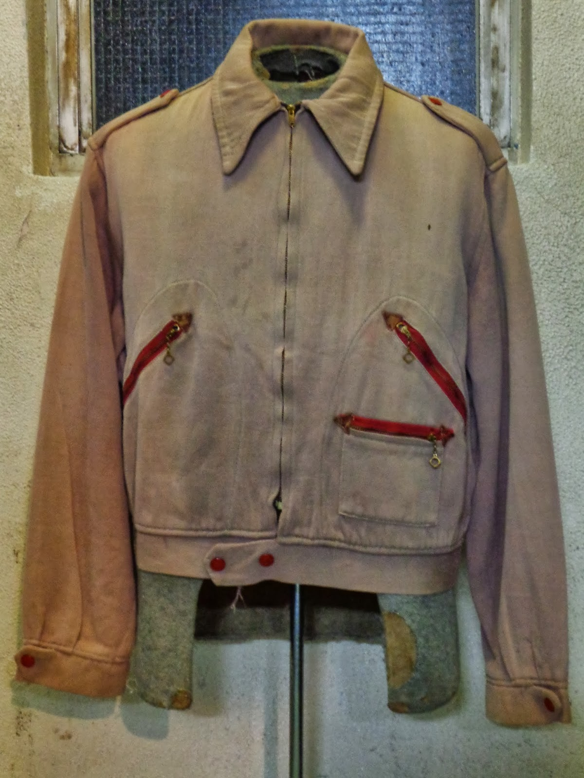 40's INDIAN SPORTSWEAR MORTORCYCLE COTTON JACKET