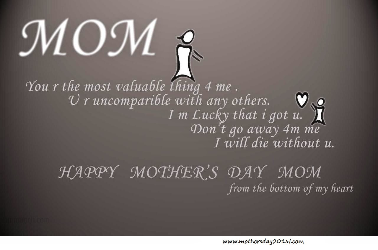 Quotes For Moms Happy Mother's Day Quotes With Images For Facebook 2015  Happy