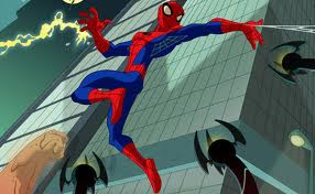 Spiderman cartoon wallpaper