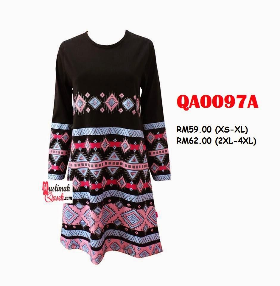 T-Shirt-Muslimah-Qaseh-QA0097A