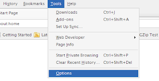 Merubah Home Page Mozila Firefox