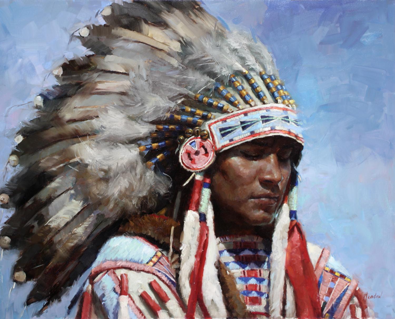 Ute Indian Oil Face Paint