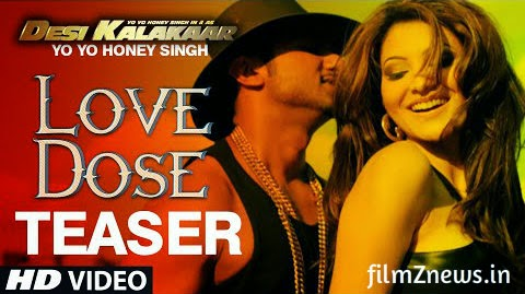 Love Dose Video Song Teaser - Yo Yo Honey Singh | Desi Kalakaar | HD