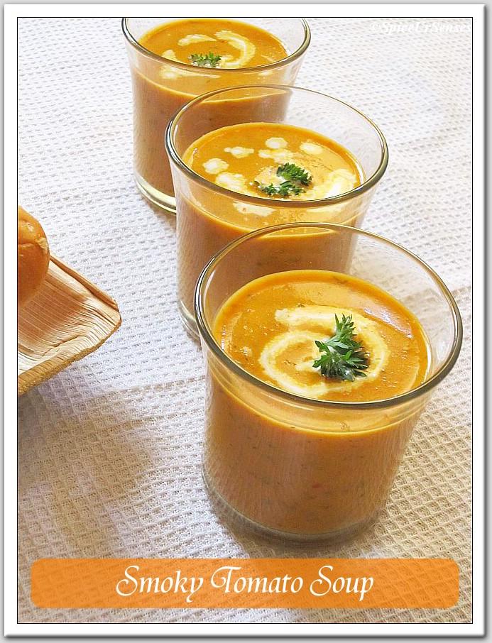 Smoky Tomato Soup!!!