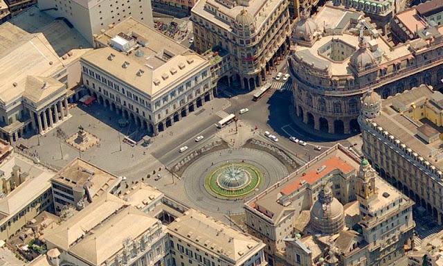 Генуя площадь