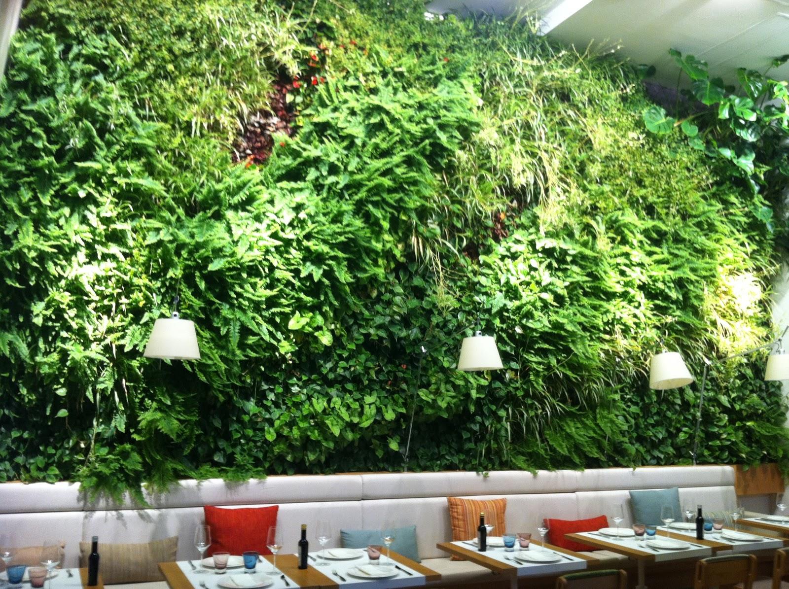 Comiendo se entiende la gente gastronutrici n noviembre for Como se hace un jardin vertical