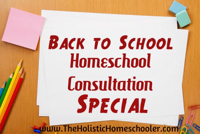 Need some help and support with your homeschool journey? Right now you can save over 60% on a homeschool consultation.