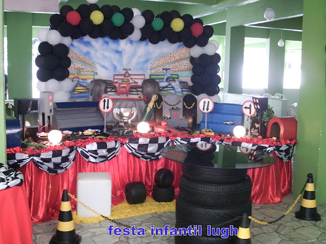 festa infantil Fórmula 1