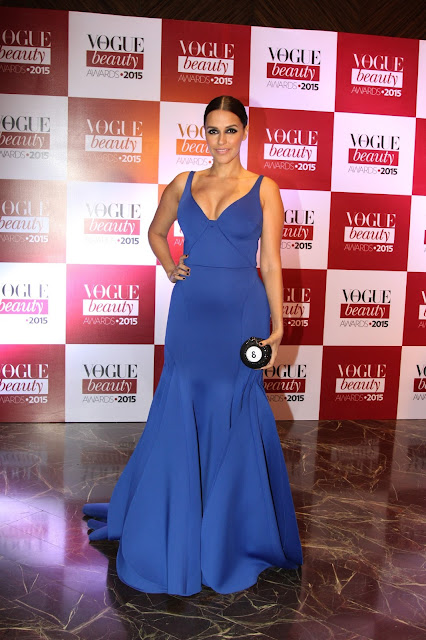 Best of Vogue India Beauty Awards 2015, Neha Dhupia at the Vogue India Beauty awards