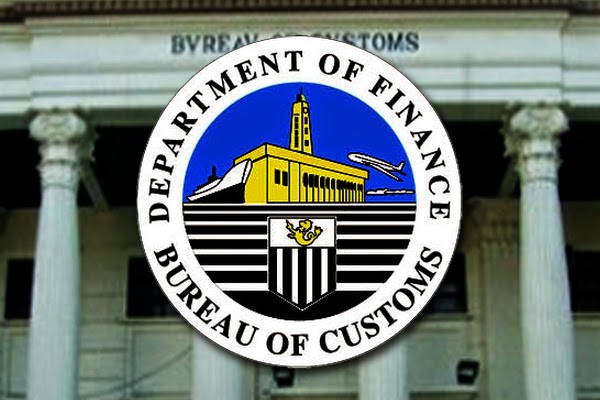 DOF Bureau of Customs logo