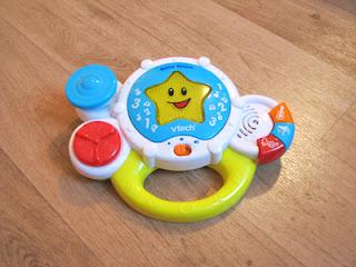 Vtech Baby Drum: interactief en spelenderwijs kennis maken met instrumenten, geluiden, liedjes en cijfers