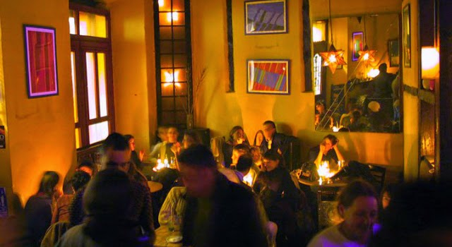 Cafetería íntima en Madrid