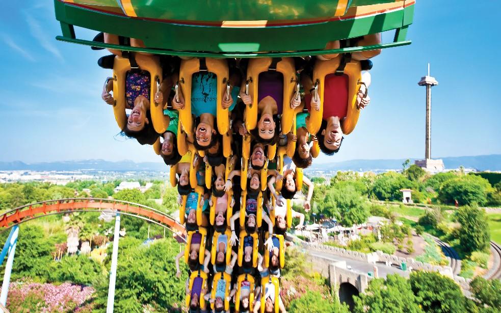 Parks trip reportage parks trip visite portaventura - Parc d attraction espagne port aventura ...