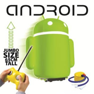 Android Air Toy Photo Review