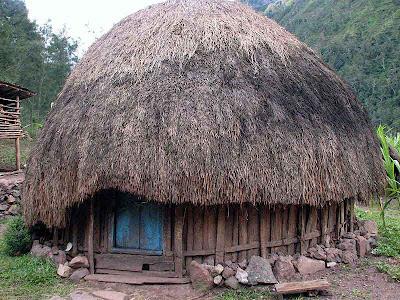 FOTO : Rumah Aadat Ppapua
