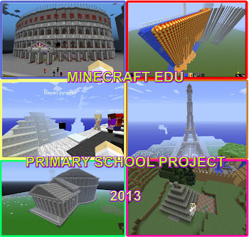 Minecraft Edu. Primary school project