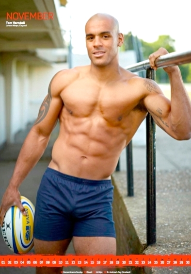 'Rugby's Finest' - 2012 • Tom Varndell • Rugby Union Player