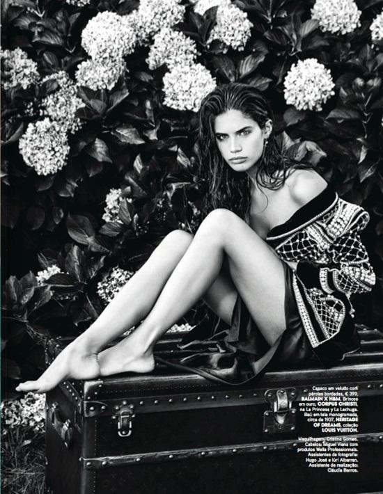 Balmain x H&M 2015 Fall Beaded Velvet Jacket Editorials