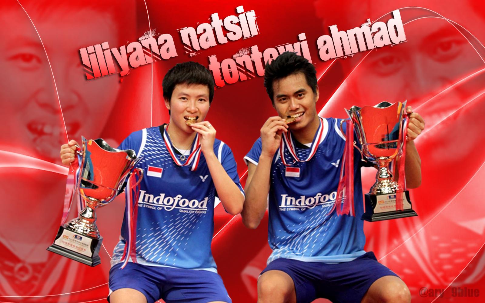Wallpaper Tontowi Ahmad Liliyana Natsir