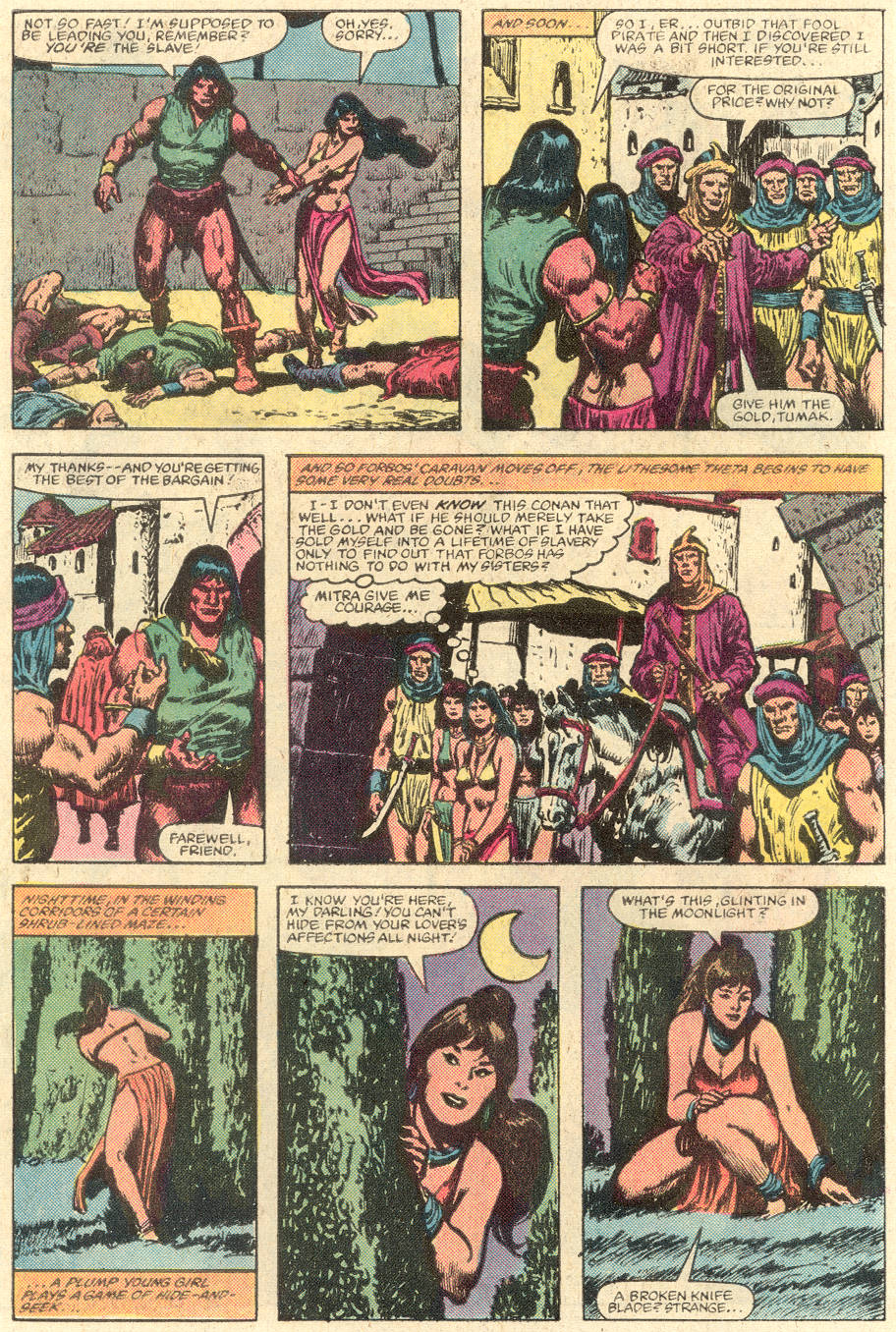 Conan the Barbarian (1970) Issue #142 #154 - English 8