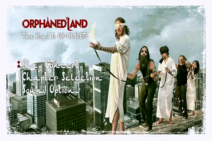 Orphaned land - The Road To OR-Shalem [2DVDs Full]