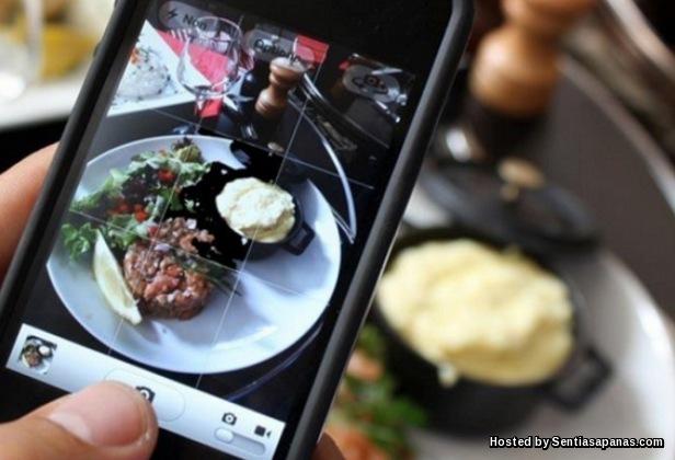 Selfie Gambar Makanan