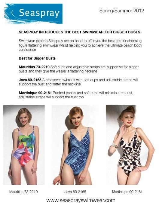 frumpy to funky: Swimwear experts Seaspray choose the best ...