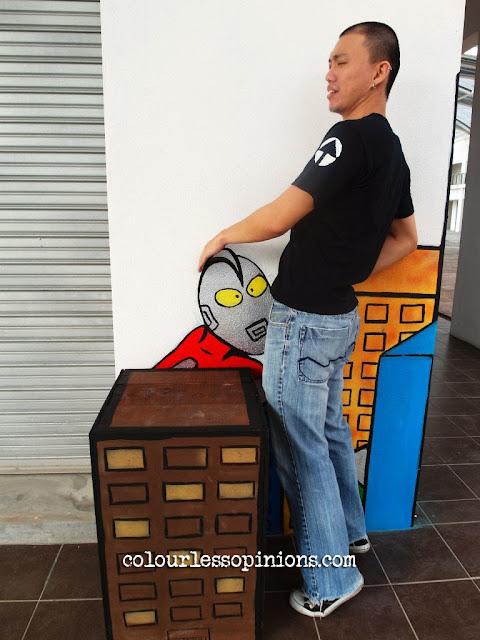Artsphere 208ty @ The Atmosphere Seri Kembangan - 3D Street Art Murals Photo - Ultraman blowjob