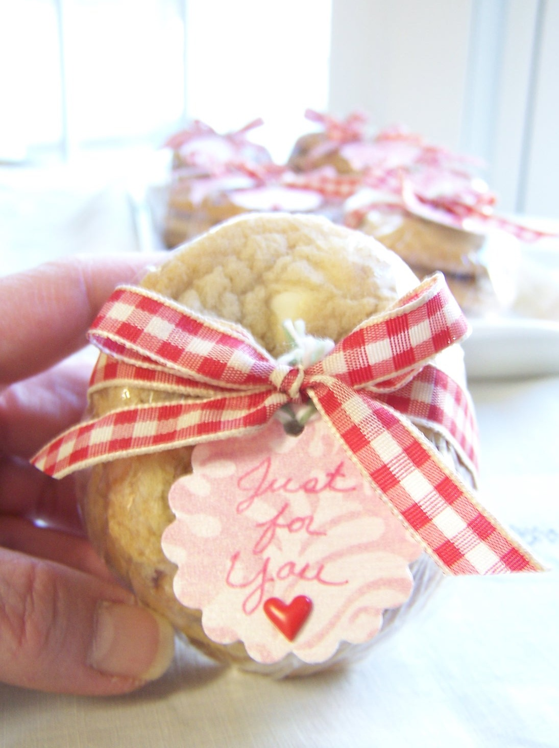 Grace Filled Hands: Valentine\'s Day Cookie Recipe White Chocolate ...