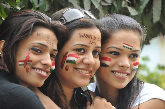 World Cup cricket fever grips Patna
