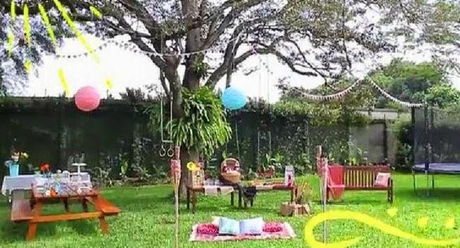 Kreatif Dan Cara Hiasi Kebun Buat Pesta