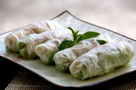 Shredded Pork and Pork Skin Rice Paper Rolls Recipe (Bi Cuon)