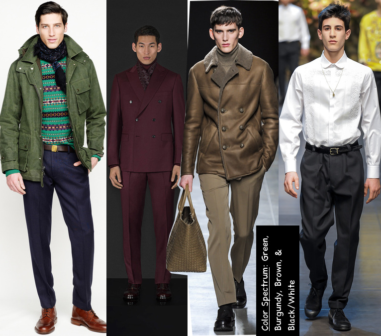 mens fall 2013 colors trend