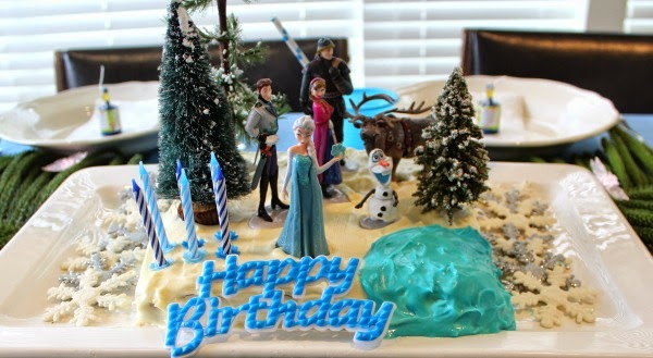Easy Frozen Birthday Cake For a Girls Party Desire Empire
