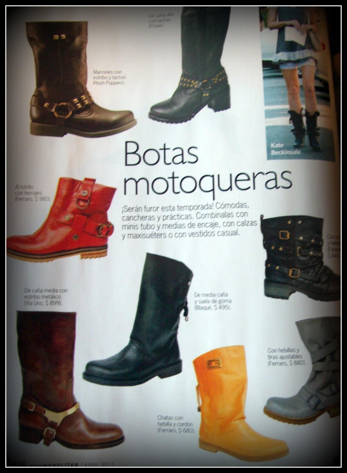 ... no me sentí nada identificada pero luego de observar looks en revistas  decidí salir de mis clásicas elecciones y fuí por un par de botas motoqueras . 538ab825a8d49