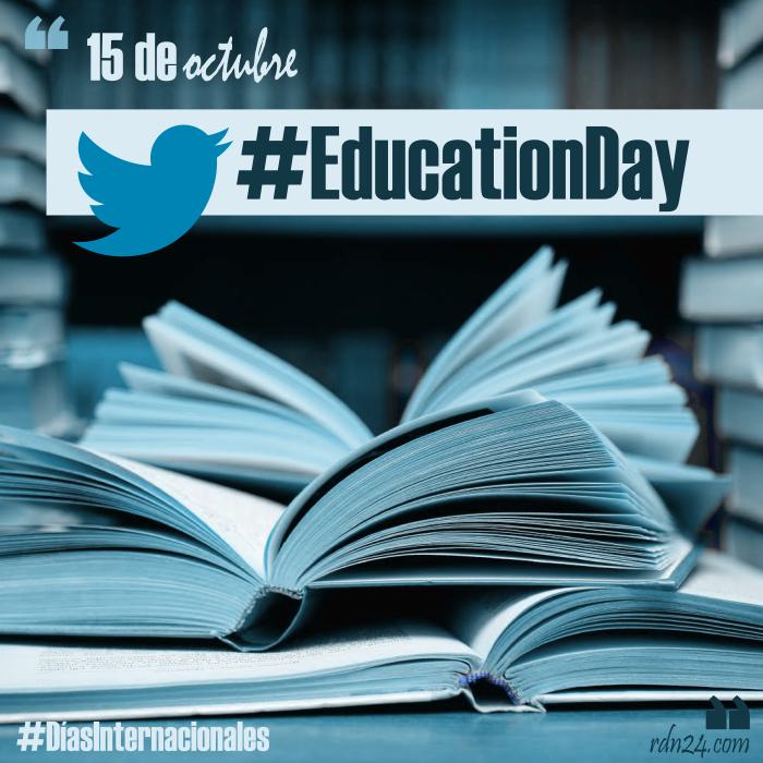 Twitter celebra #EducationDay con diez razones para usar la red de microbloggin en la educación – 15 de octubre #DíasInternacionales