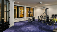 Beautiful Gym in American Luxury House